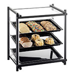 "Cal-Mil 1143-74 Display Case - Attendant Serve, See-Thru, 16-1/2x14x22"", Silver"