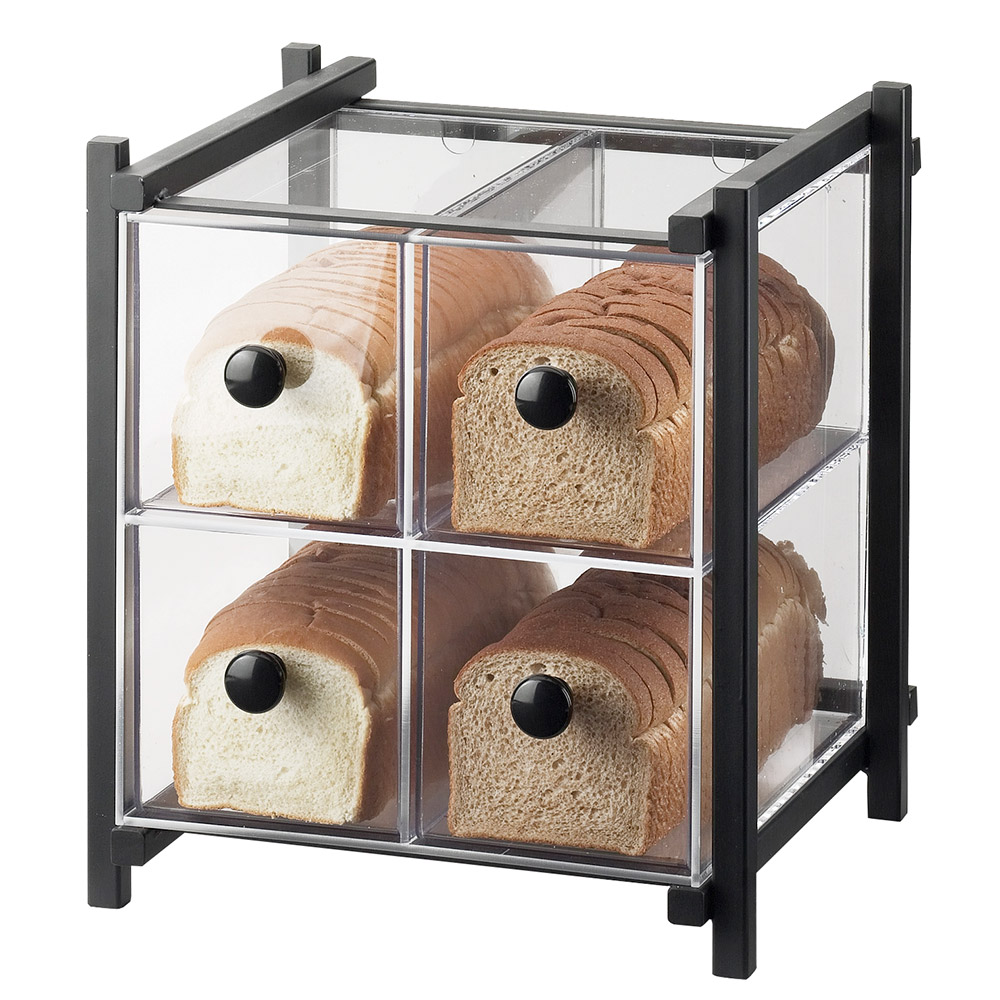 Cal-Mil 1146-13 Bread Case - Black