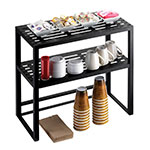"""Cal-Mil 1254 Iron Collection Hutch for 1410 Mobile Server, 24 x 12 x 24"""" High"""