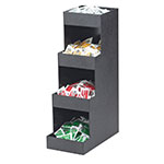 Cal-Mil 1261 3-Tier Coffee Amenity Unit, 6.5 x 12 x 20.5-in