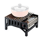 "Cal-Mil 1363-13 Bridge Style Cook-N-Serve Butane Frame w/ Grate, 13 x 14 x 7"" H"