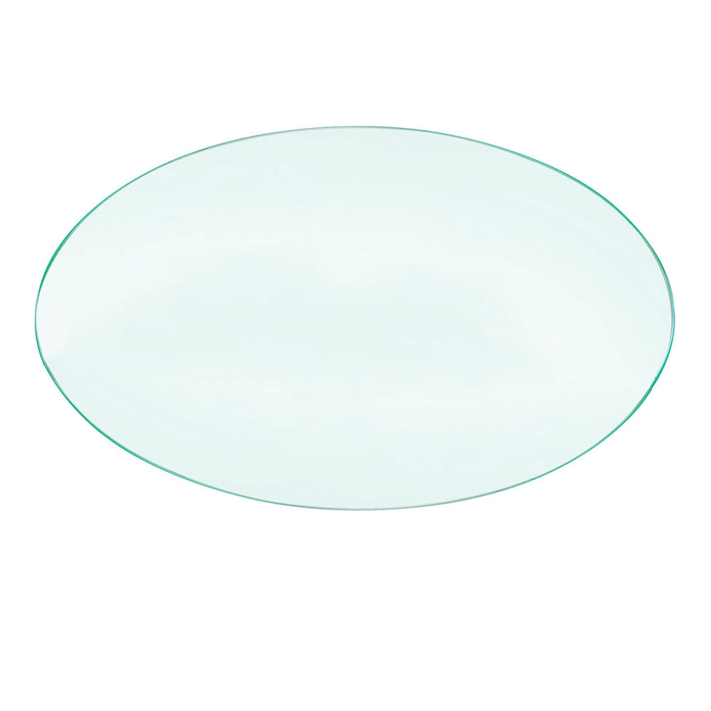 "Cal-Mil 144324 24"" Round Elevation Riser Shelf, Acrylic"