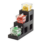 Cal-Mil 1486-96 In-Line Jar Display - Midnight