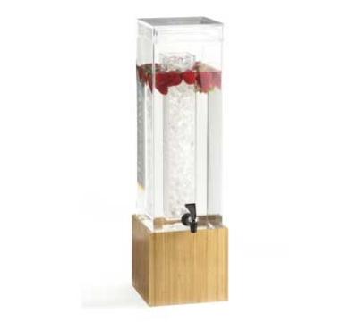 Cal-Mil 1527-3-60 3-Gal Beverage Dispenser, Bamboo, BPA Free