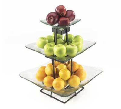 Cal-Mil 1541-3-13 16.75-in Square Ice Display, 20.25-in High, BPA Free