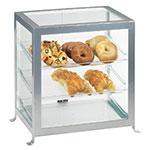 "Cal-Mil 1575-74 Soho Display Case - 21-1/4x15-3/4x20-3/4"", Silver"