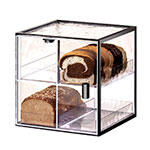 Cal-Mil 1720-4 4-Tier Bread Case w/ Wire Frame & Textured Acrylic Body