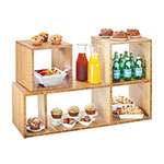 "Cal-Mil 1933-60 Library Shelf System - 38x12x24"", Bamboo"