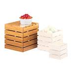 """Cal-Mil 1944-12-60 Square Crate Riser - 12"""", Bamboo"""