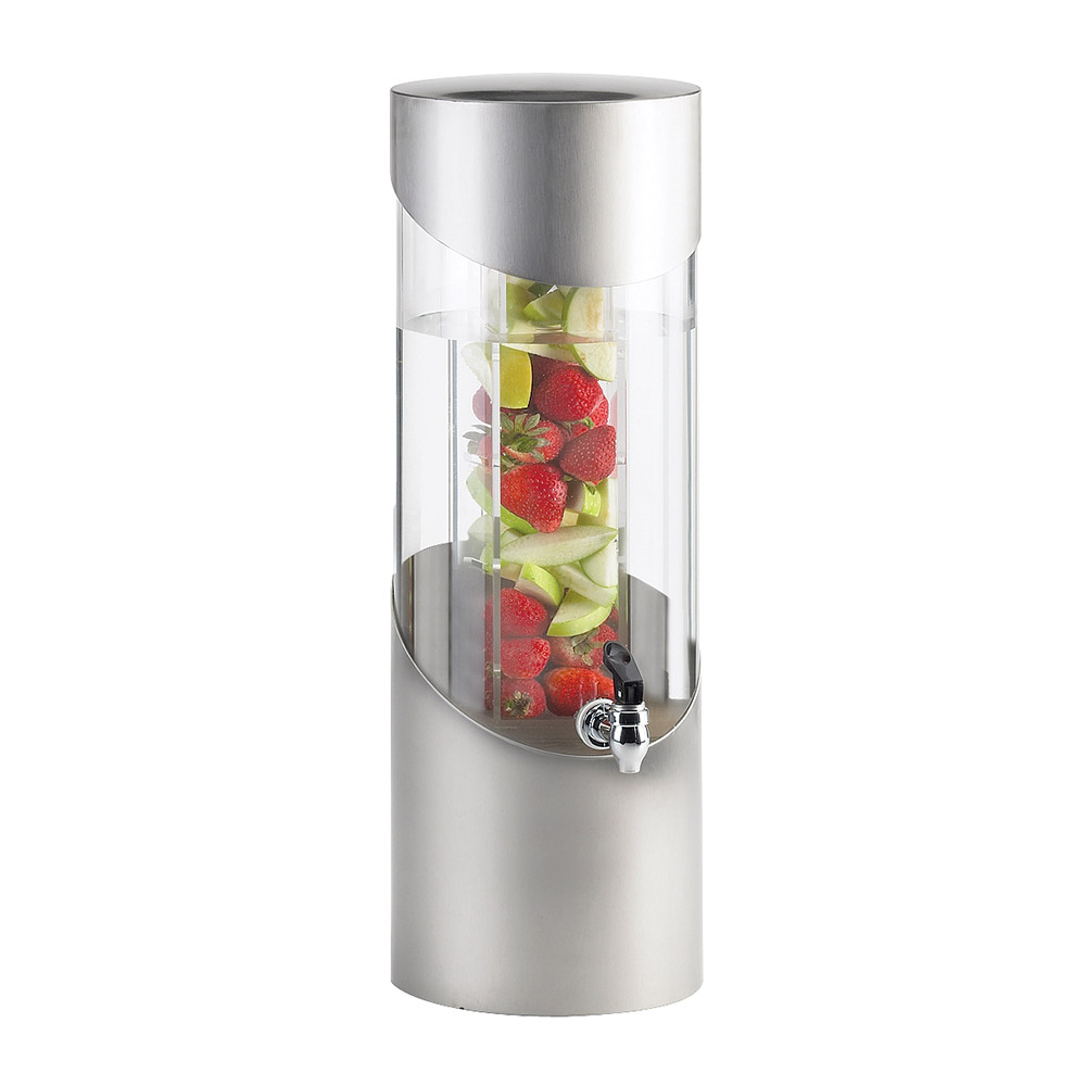 Cal-Mil 1990-3INF-55 3-gal Beverage Dispenser - Drip Tray, Acrylic, Stainless Steel