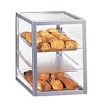 "Cal-Mil 268 Countertop Display Case w/ (3) 13 x 18"" Trays, Attendant Serve"