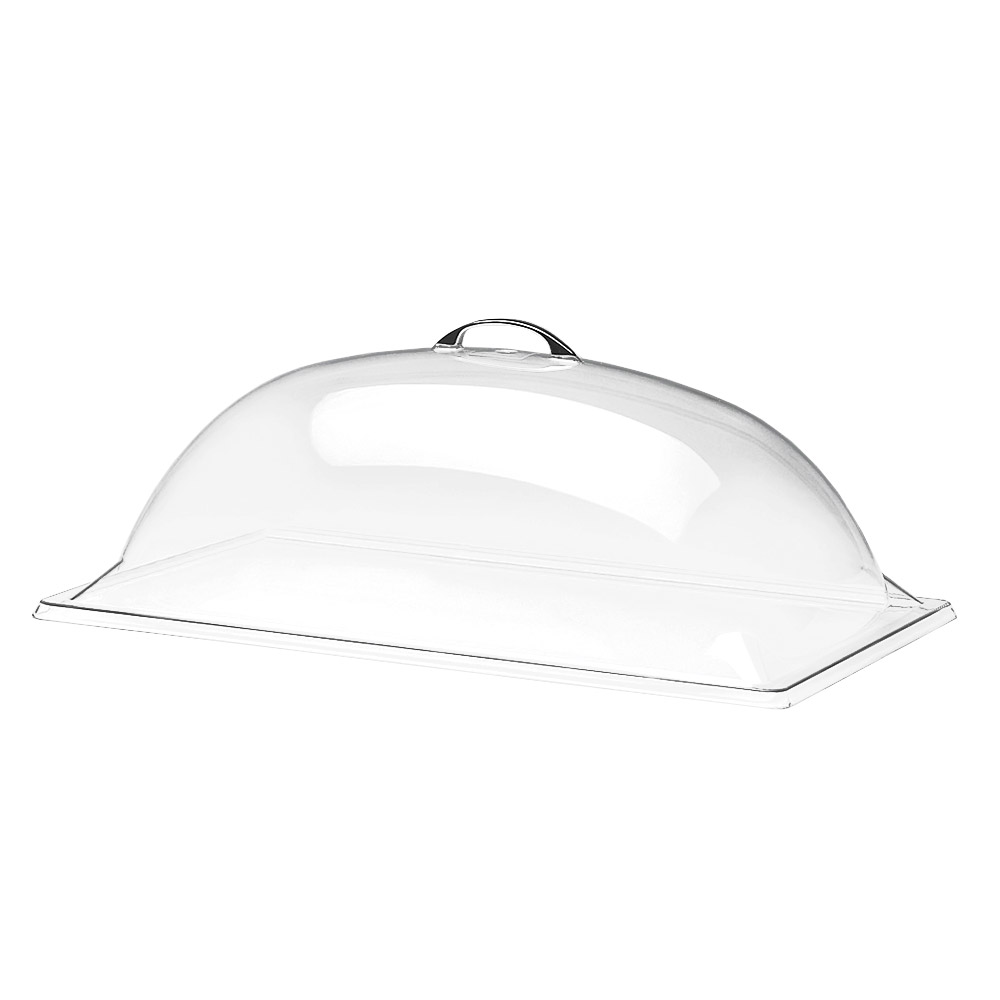 "Cal-Mil 321-18 Dome Type Display Cover, 18 x 26 x 8"" High, Polycarbonate"