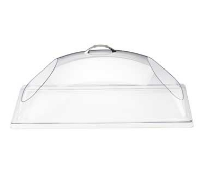 Cal-mil 32312 Chafer Display Cover w/ Cut Out Ends, Poly, Clear