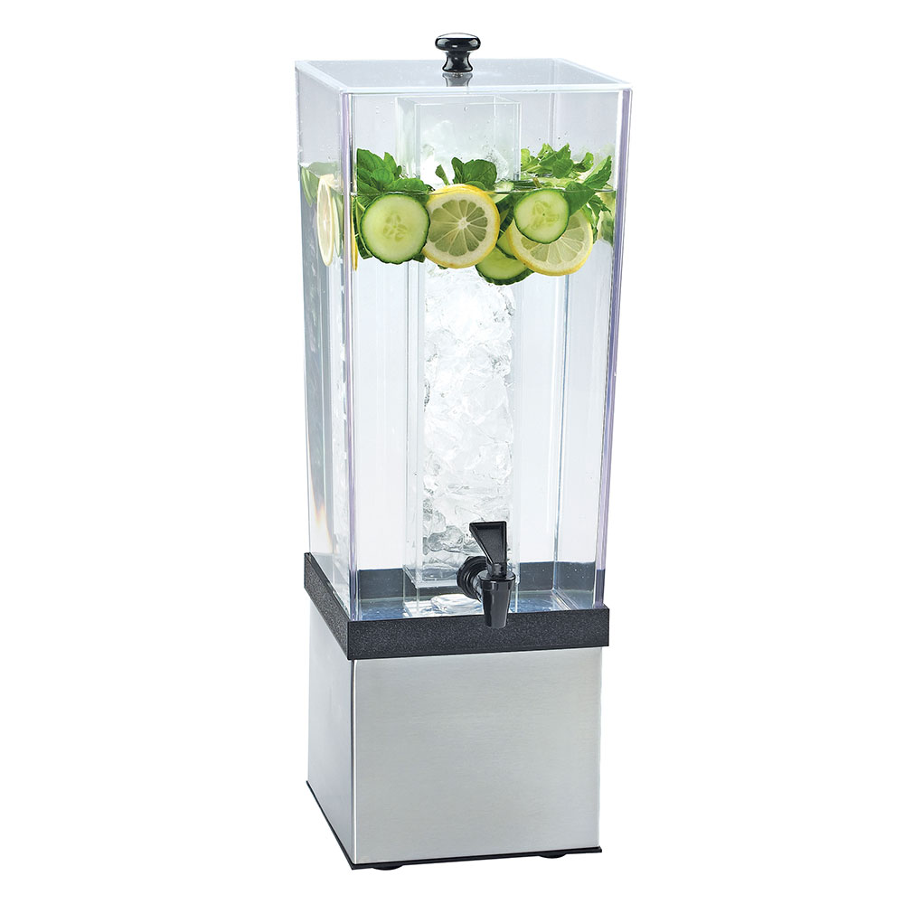 Cal-Mil 3324-3INF-55 3-gal Econo Beverage Infusion Dispenser - Lid, Spigot