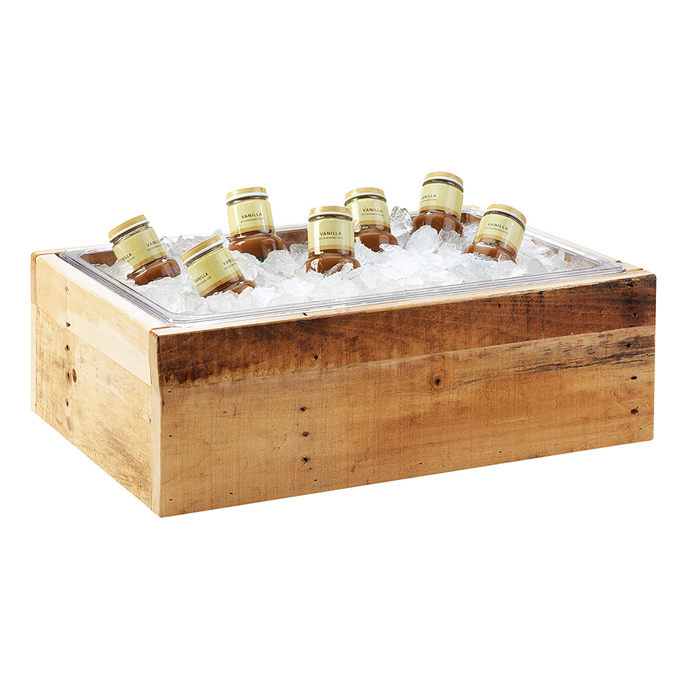 "Cal-Mil 3360-12 Ice Housing - 21"" x 13"" x 6.5"", Wood"