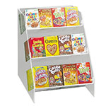 "Cal-Mil 370 3-Tier Countertop Cereal Organizer, Holds 36""dividual Boxes"