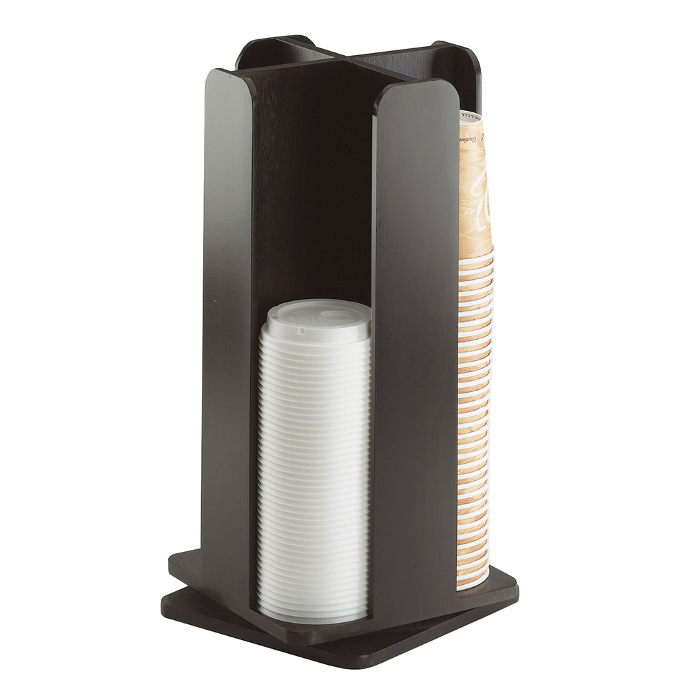 Cal-Mil 378-96 Revolving Cup Lid Organizer - Midnight