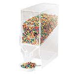 Cal-Mil 766 Acrylic Bulk Cereal Dispenser w/900-cu in Capacity, BPA Free, Clear