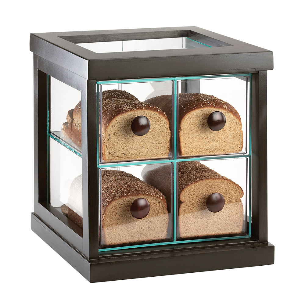 Cal-Mil 813-96 4-Drawer Bread Case - Midnight