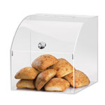 "Cal-Mil 945 12.5"" Square Pastry Display Case w/ Curved Top, 12.5 x 12.5 x 12.5""H"