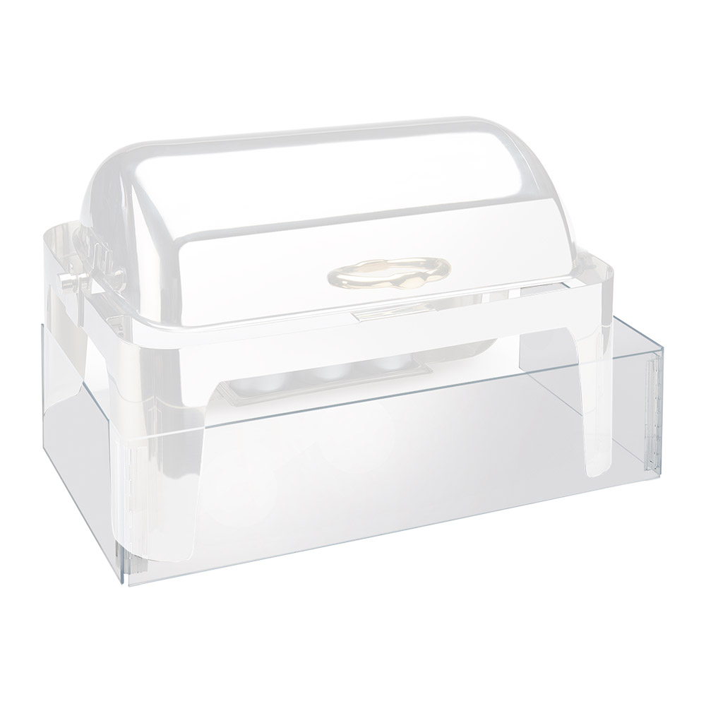 "Cal-Mil 978-12 Acrylic Chafer Windguard, 14 x 22.5"", Clear"