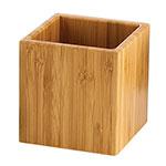 Cal-Mil C4X4-60 4-Square Jar, Bamboo