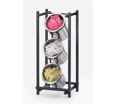 Cal-Mil 1134-13 3-Cylinder One by One Cylinder Display Only - Black