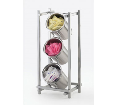 Cal-Mil 1134-74 3-Cylinder One by One Cylinder Display Only - Silver