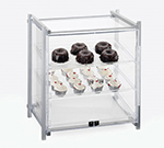"Cal-Mil 1145-S-74 Display Case - Self-Service, See-Thru, 20-1/2x17x22"", Silver"