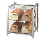 Cal-Mil 1146-74 4-Drawer Bread Case - Silver