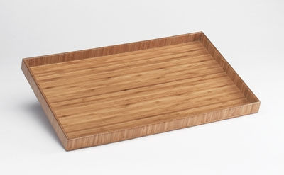 Cal-mil 1367-10-60 Bamboo Tray Insert, 10 x 12-in