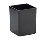 "Cal-Mil 1391-13M Cater Choice Box - 5x5x6"", Melamine, Black"