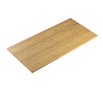 "Cal-Mil 1435-1224-60 Rectangular Tray Riser Shelf - 12x24"", Bamboo"