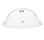 "Cal-Mil 150-15 15"" Dome Type Gourmet Lift & Serve Cover w/ Hinged Door, Clear"