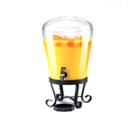 Cal-Mil 1610 3-Gallon Beverage Dispenser w/ Tapered Tank & 6-in High Base