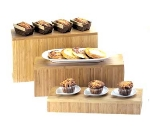 Cal-Mil 166-7-60 Bamboo Rectangular Display Riser, 20 x 7 x 7-in High