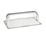 Cal-Mil 1703 Polycarbonate Cover w/ Roll Top, 12 x 20-in