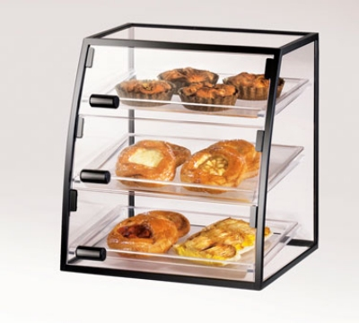 Cal-Mil 1708-1318 Self Serve Cabinet w/ (3) 13 x 18-in Trays & 3-Front Doors, Wire