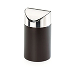 Cal-Mil 1717-96 Countertop Trash Bin - Midnight