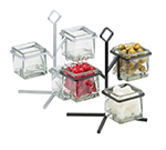 Cal-Mil 1804-13 3-Tier Jar Caddy - Black