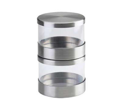 Cal-Mil 1851-4 16-oz Mixology Jar - Lid, Stainless Steel