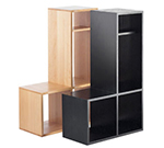 Cal-Mil 1933-60 Library Shelf System - 3