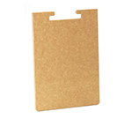 "Cal-Mil 2035-312-14 12"" Bread Board - Female End, Natural"