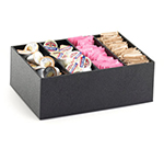 Cal-Mil 2040 4-Compartment Classic Condiment Organizer - Black