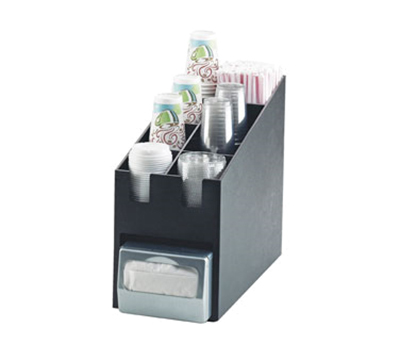 Cal-Mil 2046 Classic Condiment Organizer - For Cup, Lid, Straw