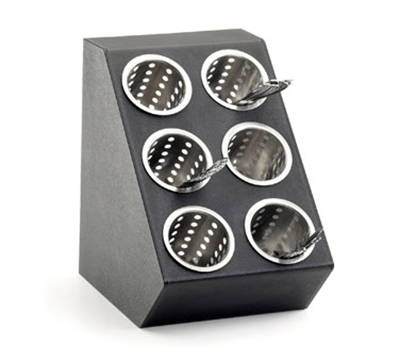 Cal-Mil 2049 6-Cylinder Classic Cylinder Display Only - Black