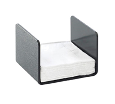 "Cal-Mil 2060 Classic Napkin Holder - 5-1/4x5"", Black"