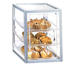 Cal-Mil 253-S Countertop Display Case w/ Front Door & Slant Front, 3-Tray, Clear