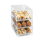 Cal-Mil 260 Countertop Display Case w/ Rear Door & (3) 10 x 14-i