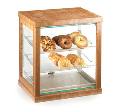 "Cal-Mil 284-60 Frame Display Case - 21x16-1/4x22-1/2"", Bamboo"